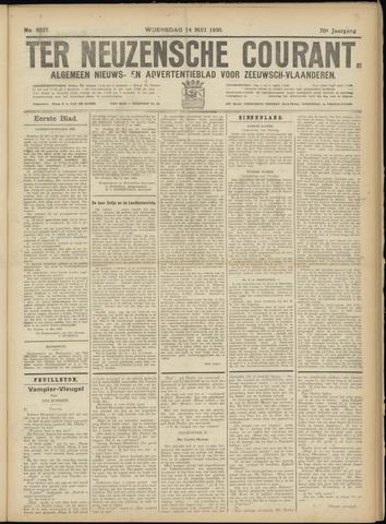 Ter Neuzensche Courant. Algemeen Nieuws- en Advertentieblad voor Zeeuwsch-Vlaanderen / Neuzensche Courant ... (idem) / (Algemeen) nieuws en advertentieblad voor Zeeuwsch-Vlaanderen 1930-05-14