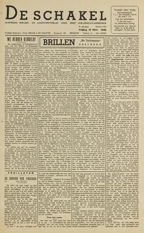 De Schakel 1949-11-18