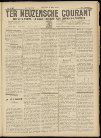 Ter Neuzensche Courant. Algemeen Nieuws- en Advertentieblad voor Zeeuwsch-Vlaanderen / Neuzensche Courant ... (idem) / (Algemeen) nieuws en advertentieblad voor Zeeuwsch-Vlaanderen 1934-05-11