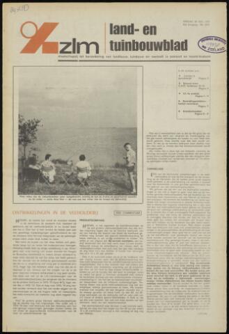 Zeeuwsch landbouwblad ... ZLM land- en tuinbouwblad 1975-07-25