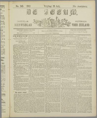 De Zeeuw. Christelijk-historisch nieuwsblad voor Zeeland 1912-07-19