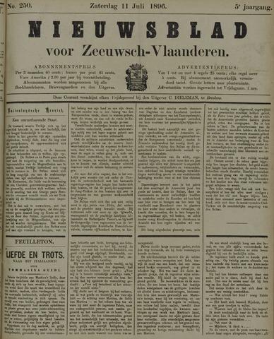 Nieuwsblad voor Zeeuwsch-Vlaanderen 1896-07-11
