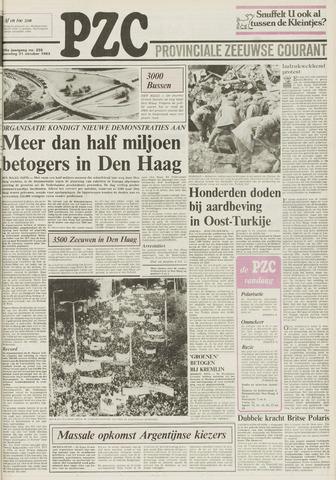 Provinciale Zeeuwse Courant 1983-10-31