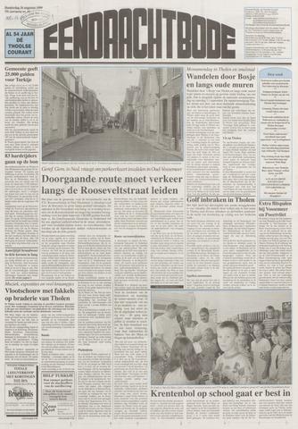 Eendrachtbode (1945-heden)/Mededeelingenblad voor het eiland Tholen (1944/45) 1999-08-26