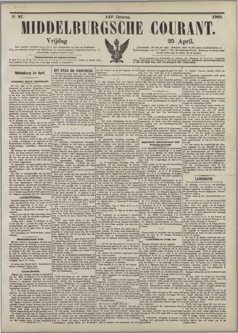 Middelburgsche Courant 1902-04-25