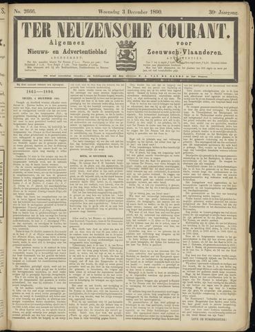 Ter Neuzensche Courant. Algemeen Nieuws- en Advertentieblad voor Zeeuwsch-Vlaanderen / Neuzensche Courant ... (idem) / (Algemeen) nieuws en advertentieblad voor Zeeuwsch-Vlaanderen 1890-12-03