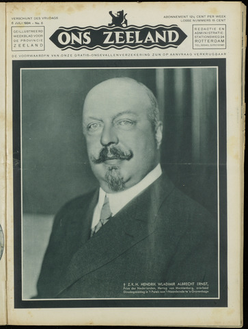 Ons Zeeland / Zeeuwsche editie 1934-07-06