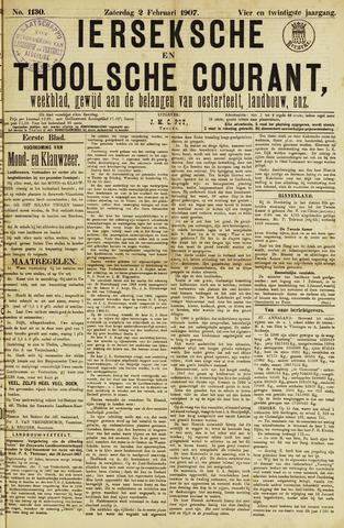 Ierseksche en Thoolsche Courant 1907-02-02