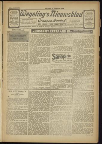 Zeeuwsch Nieuwsblad/Wegeling's Nieuwsblad 1929-01-18