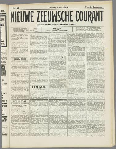 Nieuwe Zeeuwsche Courant 1906-05-01