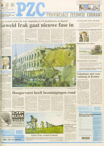 Provinciale Zeeuwse Courant 2003-08-20