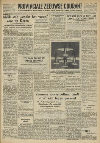 Provinciale Zeeuwse Courant 1950-08-05