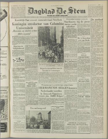 de Stem 1952-04-09