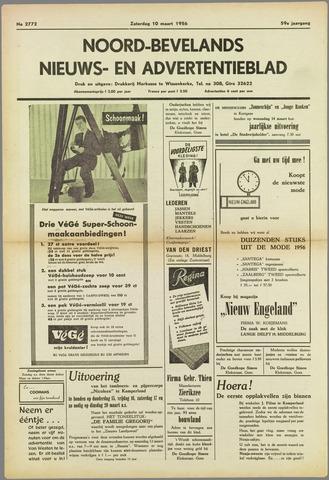 Noord-Bevelands Nieuws- en advertentieblad 1956-03-10