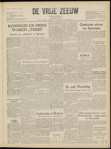 de Vrije Zeeuw 1952-04-18