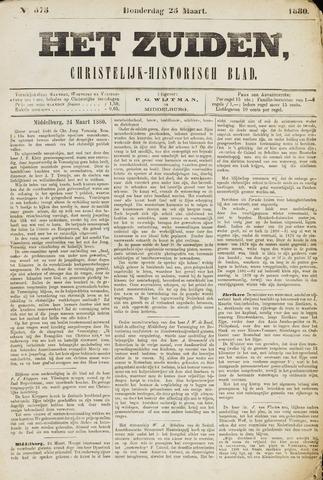 Het Zuiden, Christelijk-historisch blad 1880-03-25