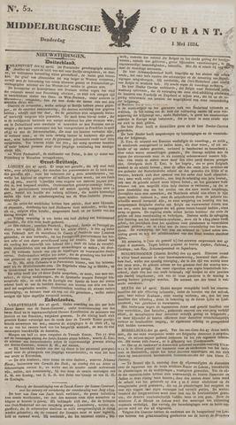 Middelburgsche Courant 1834-05-01