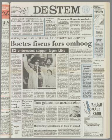 de Stem 1986-04-15