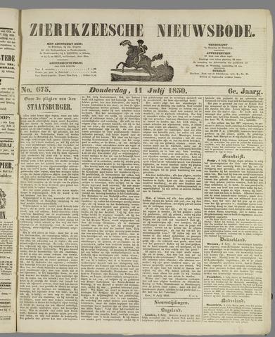 Zierikzeesche Nieuwsbode 1850-07-11
