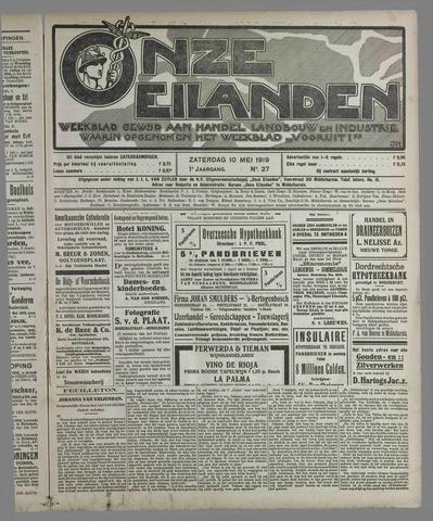 Onze Eilanden 1919-05-10
