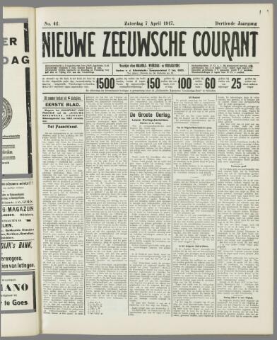 Nieuwe Zeeuwsche Courant 1917-04-07