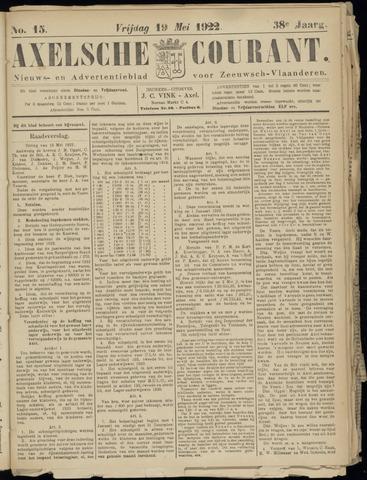 Axelsche Courant 1922-05-19