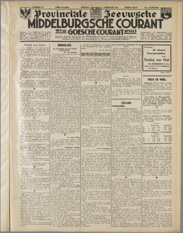 Middelburgsche Courant 1933-02-07