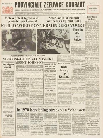 Provinciale Zeeuwse Courant 1968-02-03