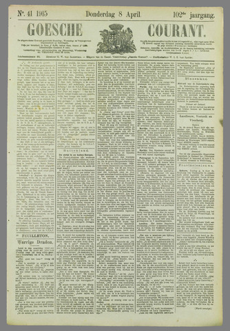 Goessche Courant 1915-04-08