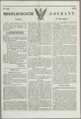 Middelburgsche Courant 1871-11-17