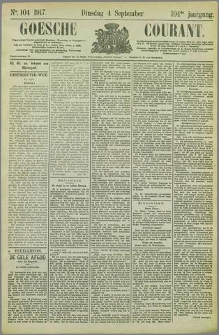 Goessche Courant 1917-09-04