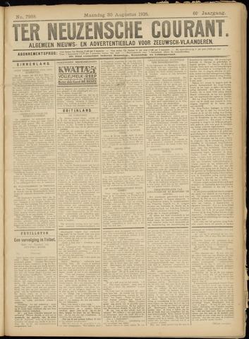 Ter Neuzensche Courant. Algemeen Nieuws- en Advertentieblad voor Zeeuwsch-Vlaanderen / Neuzensche Courant ... (idem) / (Algemeen) nieuws en advertentieblad voor Zeeuwsch-Vlaanderen 1926-08-30