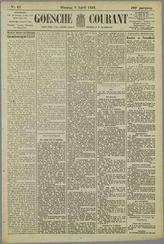 Goessche Courant 1919-04-08