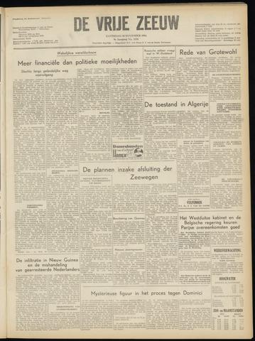 de Vrije Zeeuw 1954-11-20