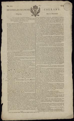 Middelburgsche Courant 1814-12-20