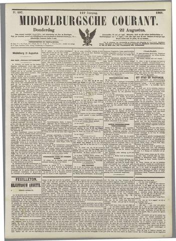 Middelburgsche Courant 1901-08-22