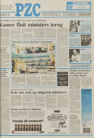 Provinciale Zeeuwse Courant 1994-05-26