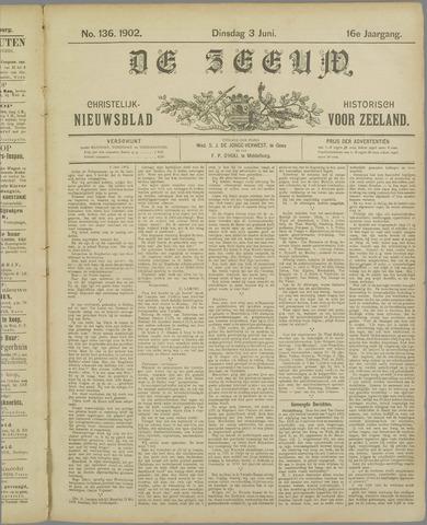 De Zeeuw. Christelijk-historisch nieuwsblad voor Zeeland 1902-06-03