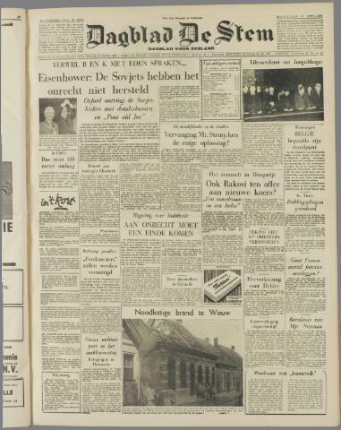 de Stem 1956-04-23