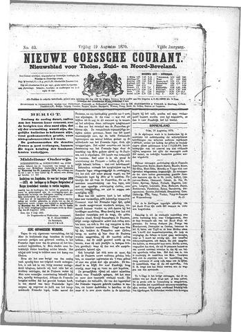 Nieuwe Goessche Courant 1870-08-19