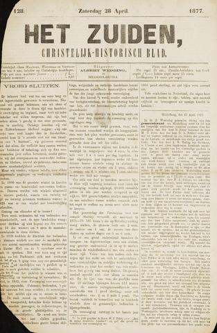Het Zuiden, Christelijk-historisch blad 1877-04-28