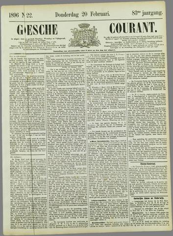 Goessche Courant 1896-02-20