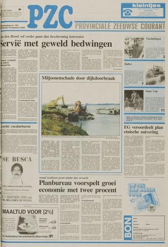 Provinciale Zeeuwse Courant 1992-08-13