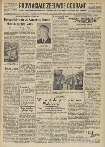Provinciale Zeeuwse Courant 1951-08-11