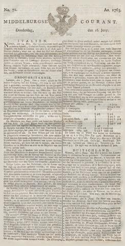 Middelburgsche Courant 1763-06-16