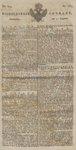 Middelburgsche Courant 1775-08-31