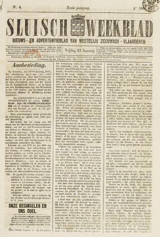 Sluisch Weekblad. Nieuws- en advertentieblad voor Westelijk Zeeuwsch-Vlaanderen 1865-01-27