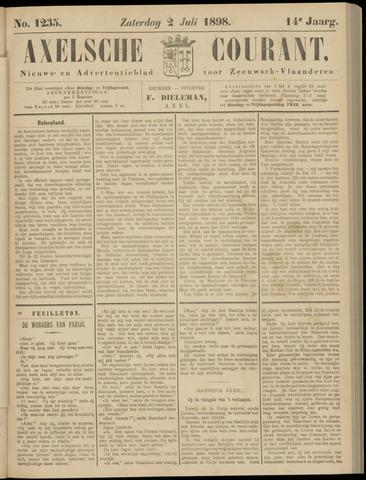 Axelsche Courant 1898-07-02