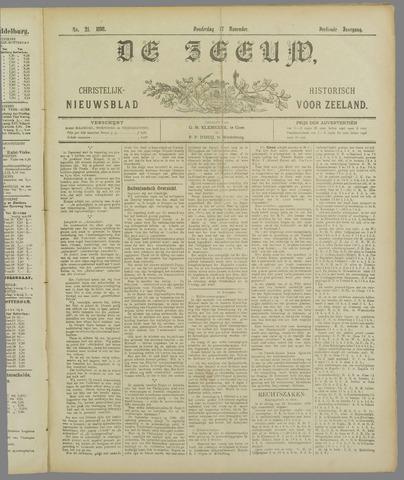 De Zeeuw. Christelijk-historisch nieuwsblad voor Zeeland 1898-11-17