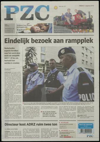 Provinciale Zeeuwse Courant 2014-08-01